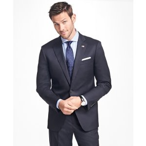 Regent Fit Two-Button 1818 Suit - Brooks Brothers