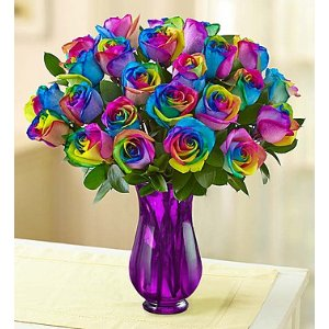 Kaleidoscope Roses, 12-24 Stems | 1800Flowers.com - 147166