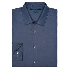 Non-Iron Slim Fit Essential Shirt - Perry Ellis