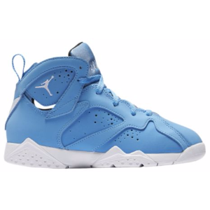 Jordan Retro 7 - Boys' Preschool - Basketball - Shoes - University Blue/White/Black