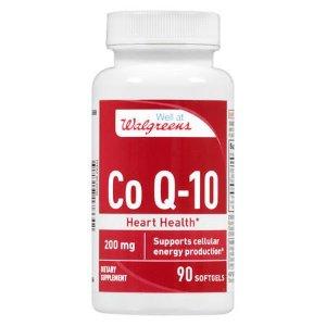 Walgreens CoQ10 200 mg | Walgreens