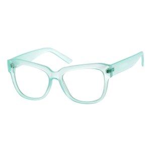 Blue Trendy Cat-Eye Eyeglasses #1239 | Zenni Optical Eyeglasses