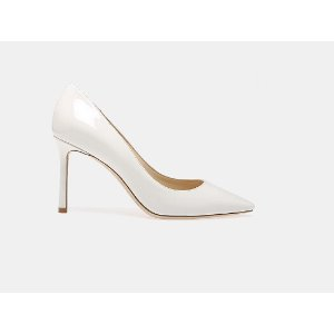 Jimmy Choo ROMY 85 PAT Pumps | ELEVTD Free Shipping & Returns
