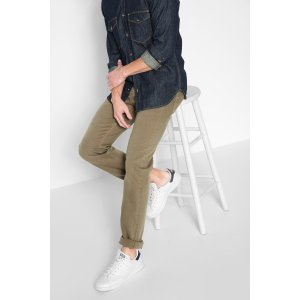 Luxe Performance Colored Denim Slimmy Slim in Sand