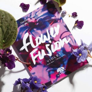$20 off $45 With flower fusion sheet masks deluxe sample of Cleanser + full- size eye cream@ Origins
