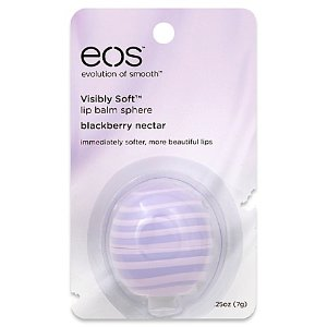 eos™ Visibly Smooth™ 25 oz. Lip Balm Sphere in Blackberry Nectar - Bed Bath & Beyond