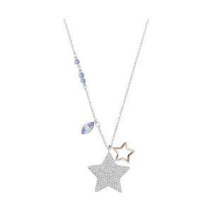 Swarovski 双星项链