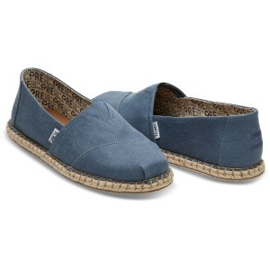 Blue Earth Men's Rope Sole Classics | TOMS®