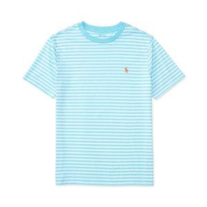 Ralph Lauren Striped Cotton Jersey T-Shirt, Big Boys (8-20) - Sale & Clearance - Kids & Baby - Macy's