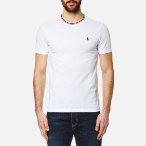 Polo Ralph Lauren Men's Tipped Crew Neck T-Shirt - White