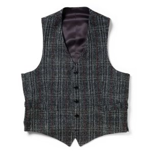 Harris Tweed Vest by Allen Edmonds