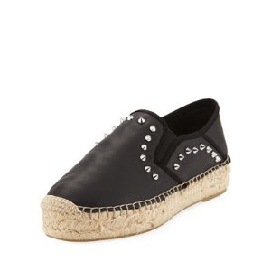 Xiao Spiked Leather Espadrille渔夫鞋