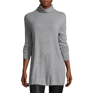Mock Neck Cashmere Sweater by Vince at Gilt