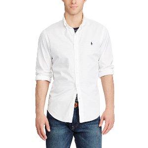 Slim Fit Beach Twill Shirt
