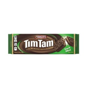 Arnott's Tim Tam Biscuits, Dark Mint, 5.8 Oz | Jet.com