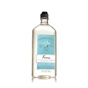 Focus - Eucalyptus & Tea Body Wash & Foam Bath