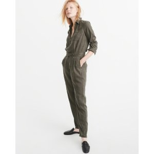 Womens Utility Jumpsuit | Womens Sale Up to 50% Off | Abercrombie.com