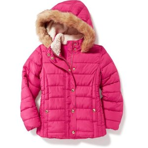 Hooded Frost Free Jacket for Girls