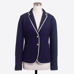 Tipped schoolboy blazer : Blazers | J.Crew Factory