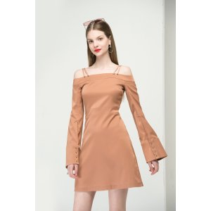 Cold Shoulder Slip Dress DR1437