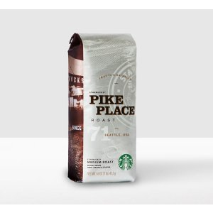 Pike Place® Roast, Whole Bean | Starbucks® Store