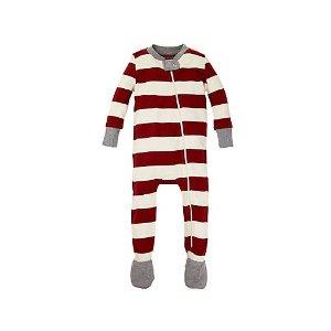 Baby Organic Cotton Rugby Stripe Sleeper