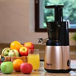 $75Argue Le Slow Juicer, Easy Cleaning Cold Press Juicer, 150W Quiet Motor Masticating Juicer