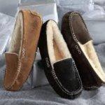 Ugg Ansley系列女士羊毛平底鞋