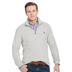 Cotton-Blend Half-Zip Pullover - Shop All � Men - RalphLauren.com