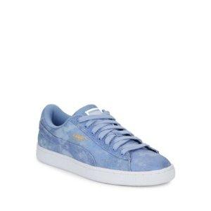 Basket Suede Platform Sneaker
