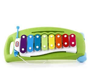 史低价 $5.19Little Tikes 儿童彩虹木琴玩具车