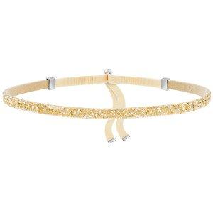 Swarovski | Crystaldust Choker, Golden