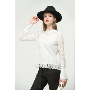 Fashion Top In Lace TP1795