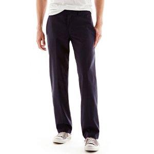 3 for $35.70Dickies® Slim Straight Poplin Men's Pants Sale