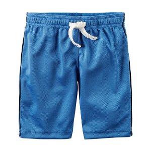 Toddler Boy Active Mesh Shorts | Carters.com