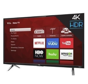 $309TCL 49 Inch 4K Ultra HD Smart TV 49S405 UHD TV