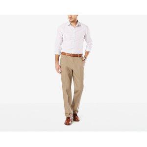 Signature Stretch Khaki, Slim Tapered | TIMBERWOLF | Dockers® United States (US)