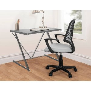Urban Shop Z-Shaped Student Desk, Multiple Colors - Walmart.com