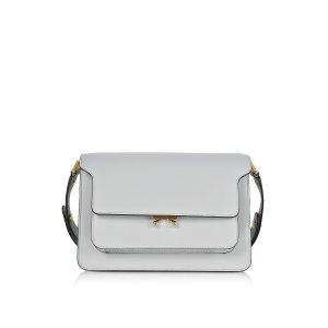 Marni Pelican Leather Medium Trunk Bag