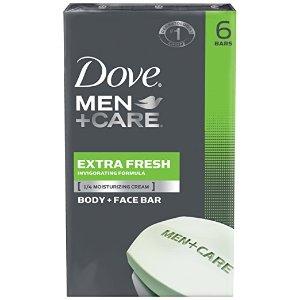 $4.55Dove Men+Care Body and Face Bar, Extra Fresh 4 oz, 6 Bar