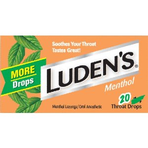 Ludens Throat Drops, Cool Menthol, 20 Count: Health & Personal Care