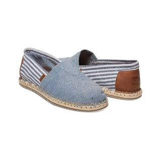 Chambray Blanket Stitch Men's Classic | TOMS®