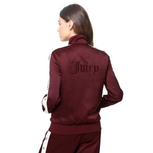 Duchess Satin Track Jacket