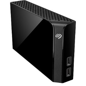 $124Seagate Backup Plus 8 TB USB 3.0 Hub Desktop Hard Drive