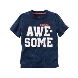 Kid Boy Awesome Graphic Tee | Carters.com