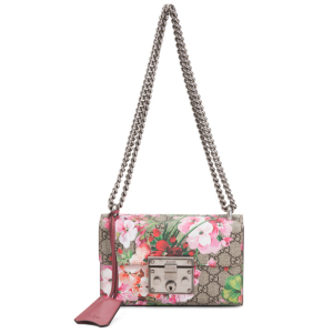 Made In Italy Shoulder Bag With Floral Print