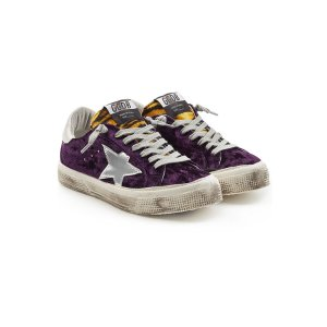 May Velvet Sneakers - Golden Goose Deluxe Brand | WOMEN | US STYLEBOP.COM