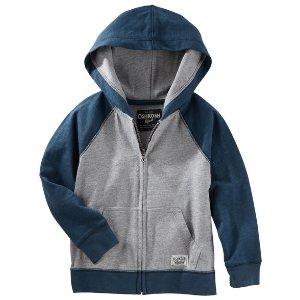 Kid Boy Raglan Hoodie | OshKosh.com