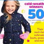 Cold-weather Winnners Kids Apparel Sale @ OshKosh BGosh