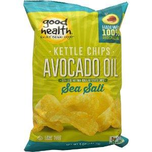 Good Health Inc. Kettle Style Avocado Oil Potato Chips Sea Salt -- 5 oz